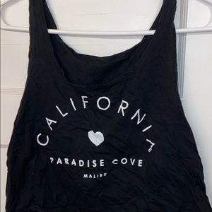 Brandy Melville California cropped tank